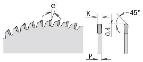 Sierra circular para materiales compuestos como Corian