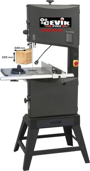 Sierra cinta madera vertical Cevik CP28-194C