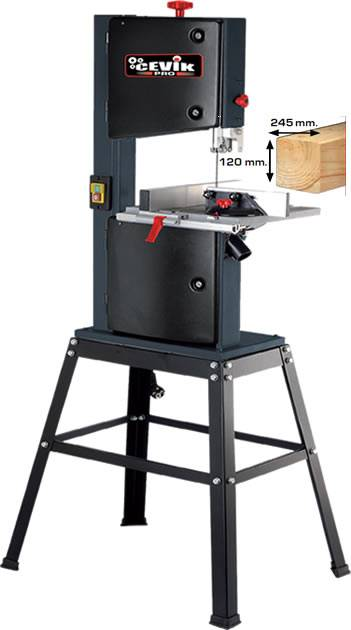 Sierra de cinta para madera cevik CP28-186