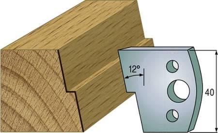 Cuchillas HS para marcos de puertas de paso