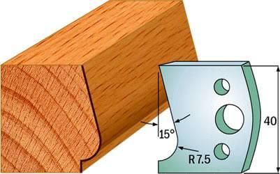 Cuchillas para madera cmt perfil 690.038