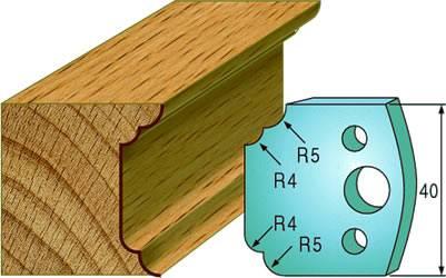 Cuchillas para molduras de madera CMT