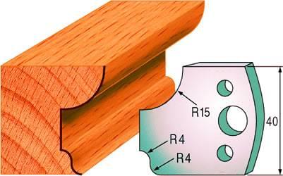 Cuchillas para hacer molduras de madera