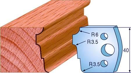 Cuchillas para puertas y ventanas de madera
