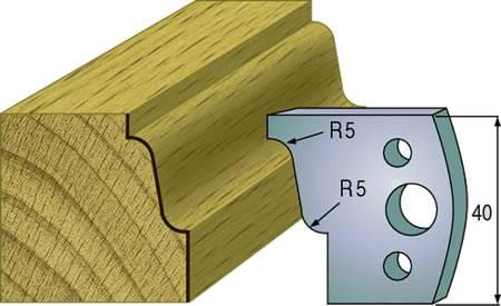 Cuchillas para madera que realiza el marco de puertas de paso