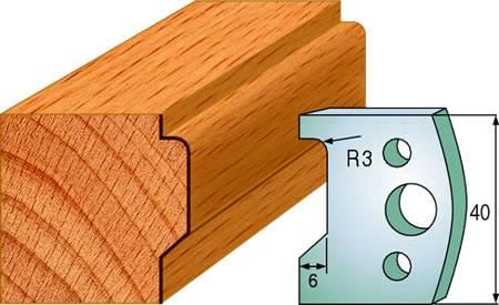 Cuchillas para pasamanos de madera