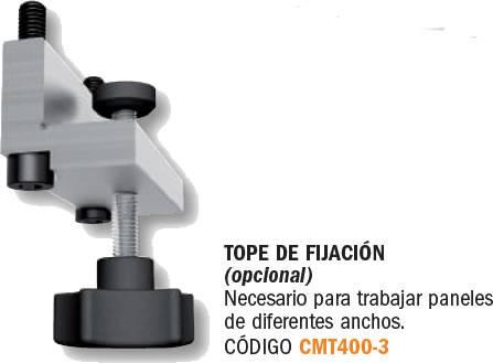 Tope opcional para fijacion de piezas sobre plantilla CMT656
