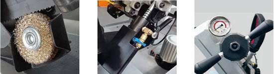 Complementos extras sierra de cinta para metal cevik N251DAXL