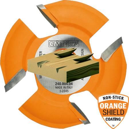 Sierra o disco para madera que realiza una ranura para introducir ensambles de madera para su posterior reparacion
