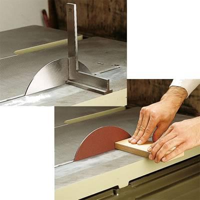 Sierra para equlibrado de las sierras circulares para madera y al mismo tiempo es un plato para colocar lijas