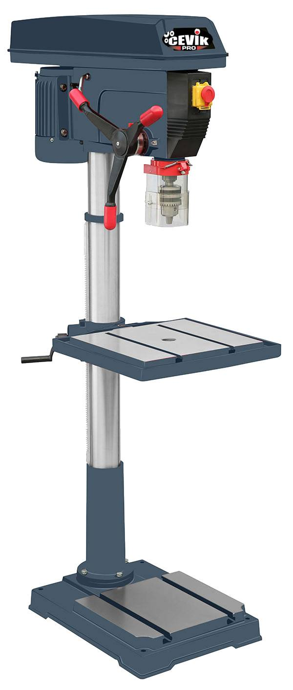 taladro de columna vertical profesional