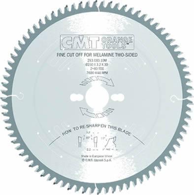 sierra circular de precision para tableros laminados
