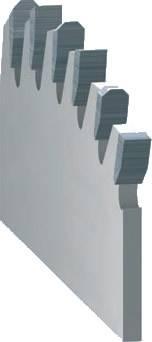 sierrascirculares con diente trapecio plano para seccionadoras