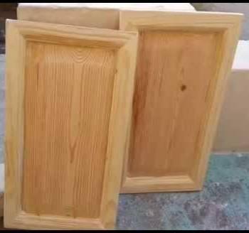 Puertas de cocina fabricadas con fresas cmt en fresadora portatil