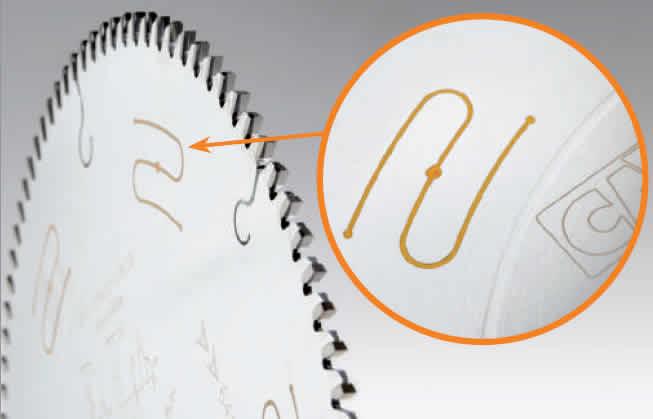 Nuevas sierras de disco para madera, aluminio y materiales plasticos con cuerpo insonorizado