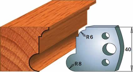 cuchillas para madera moldura 690054