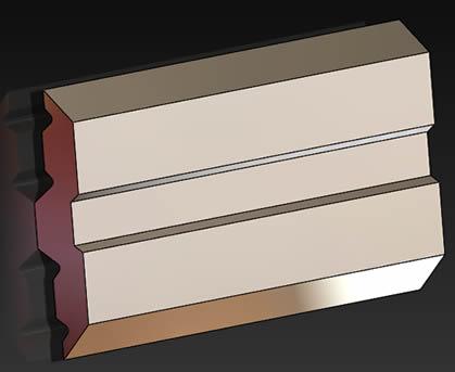 Cuchillas para madera reversibles para sistema de portacuchillas CENTROSTAR-CENTROFIX-QUICKFIX