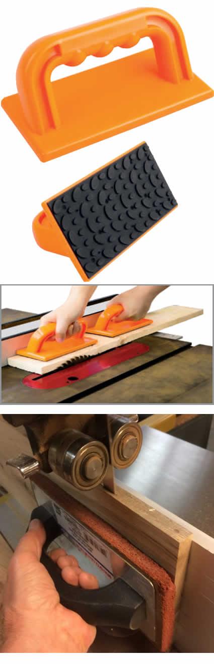 Plancha de empuje para madera de seguridad