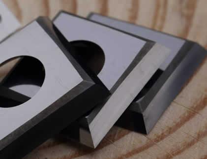 Precortadores cuchillas de 4 cortes para evitar el astillado medidas 13,6*13,6*2