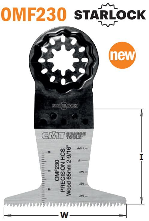 hoja sierra precision madera multiherramienta OMFOMF230