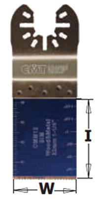 sierra inmersion y perfiladora madera metal multiherramienta OMM12