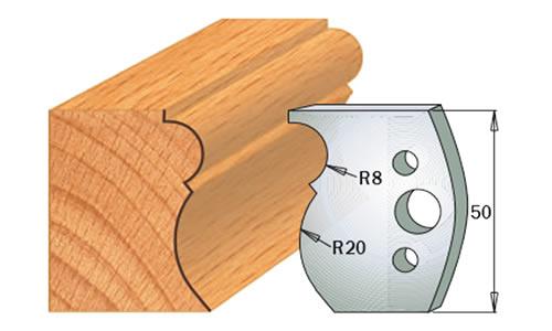 cuchilla madera 690502