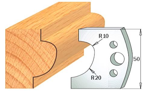 cuchilla madera 690504