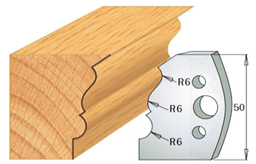 cuchilla madera 690509