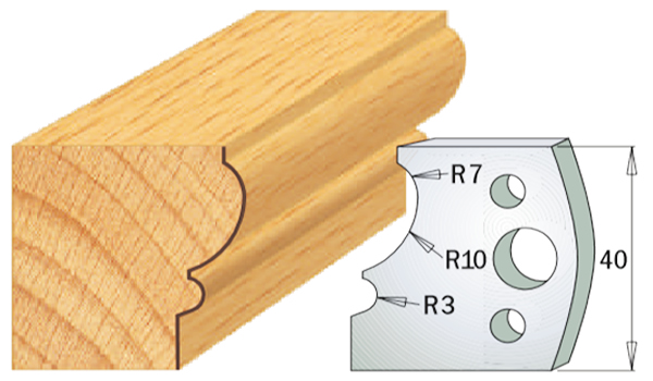 cuchilla madera 690105