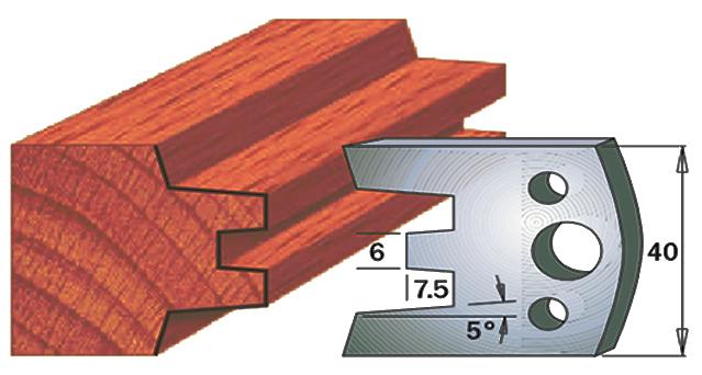 cuchilla madera 690113