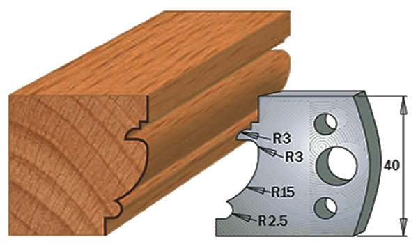 cuchillas madera 690121