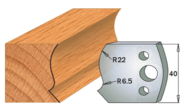 cuchilla madera 690128