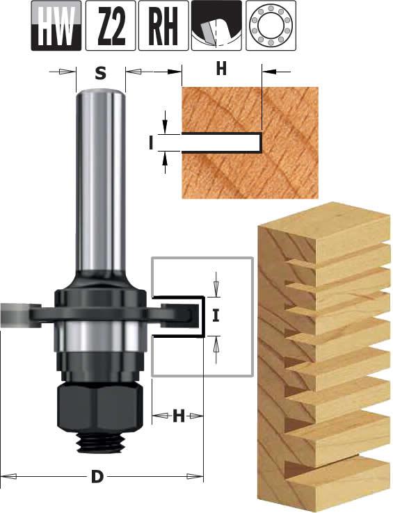 Disco fresa ranurar madera fresadora portatil, realice ranuras y machiembrados sencillos en todo tipo de maderas y sus derivados