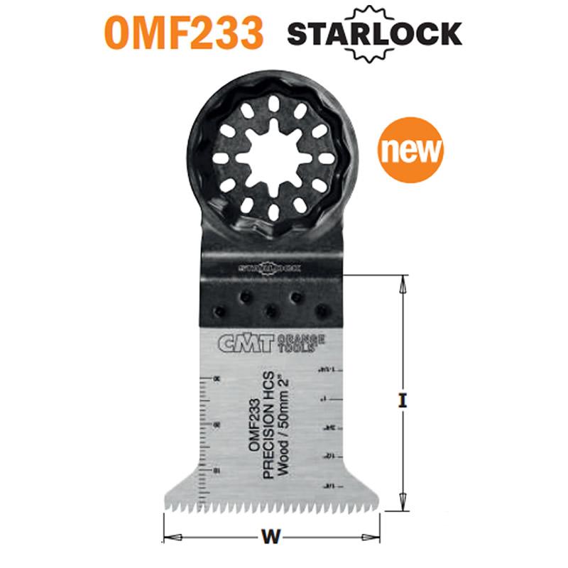 hoja precision diente japones OMF233