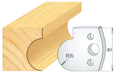 cuchillas madera 690065