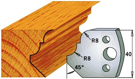 cuchillas moldura madera 690073