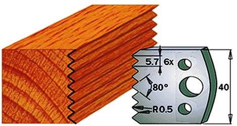 cuchilla madera 690077