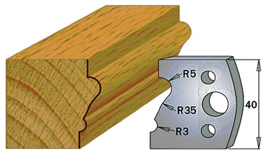 cuchilla madera 690081