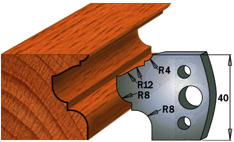 cuchilla madera 690089