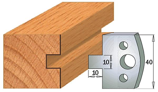 cuchilla madera 690091