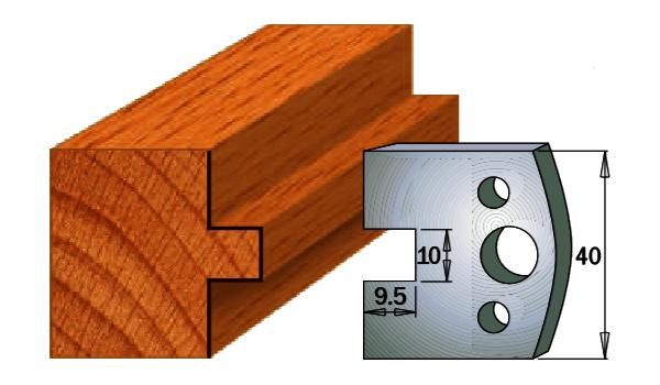 cuchilla madera 690092
