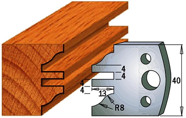 cuchilla madera 690097