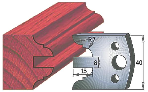 cuchilla madera 690098