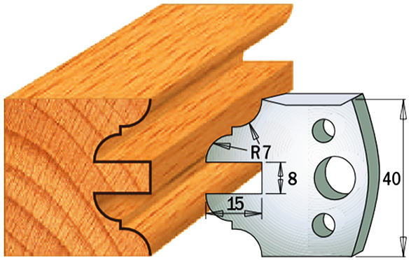 cuchilla madera 690099