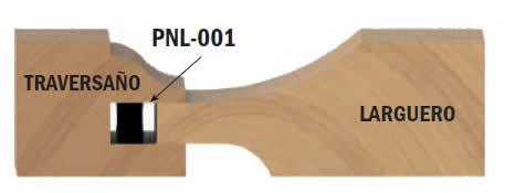 Sellos de alineacion para puertas plafonadas