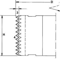 cuchilla cabezal juntas encoladas 50x12x1,5