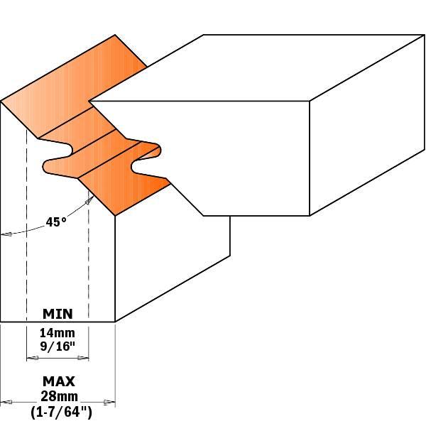 Las juntas se consiguen pasando una madera horizontal y la otra vertical