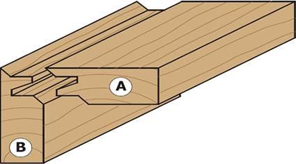 fresa para empalmar madera,ejemplo de ensamble a 45 grados en cualquier tipo de madera