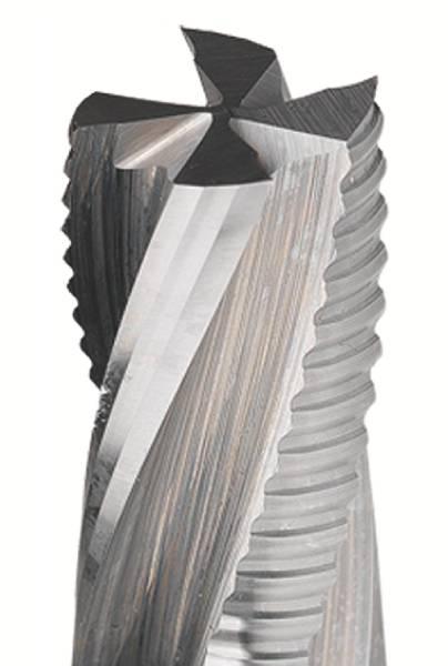 Para perfilar,contornear o seccionar, piezas bien sujetas a la mesa de trabajo,fresas helicoidales idóneas para trabajar materiales como madera maciza y sus derivados; laminados y material pvc,metraquilatos, con gran eficacia y a velocidades de avance elevadas