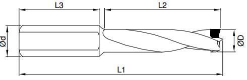 Brocas de diamante policristalino,para realizar agujeros ciegos,sin astillado en paneles revestidos